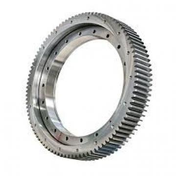 Hardened raceway teeth quenched Radial single row angular contact ball slewing bearing