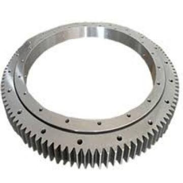 Internal gear tooth hardened single row ball slewing ring bearing for excavator