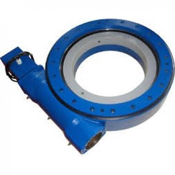 Single row four point contact ball slewing bearing with required gear