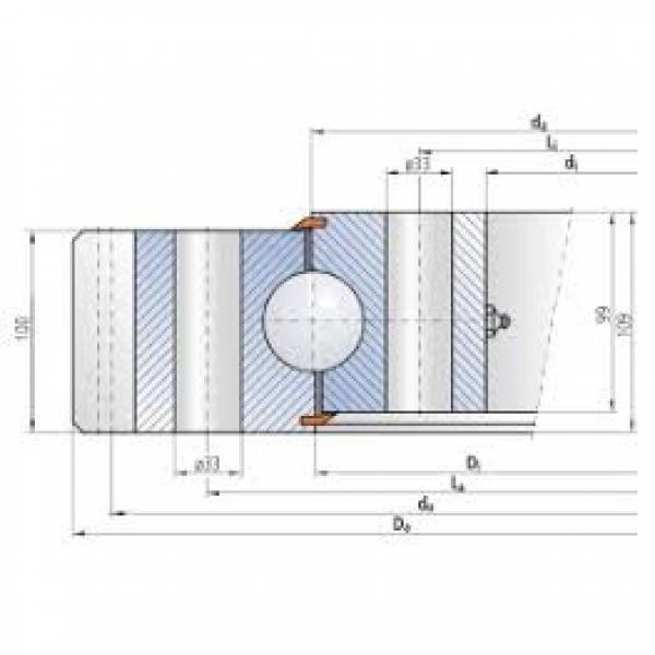 CRBF8022A Crossed Roller Bearing #1 image